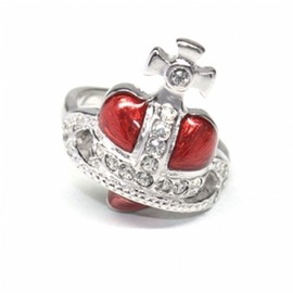 Vivienne Westwood - Diamante Heart Ring