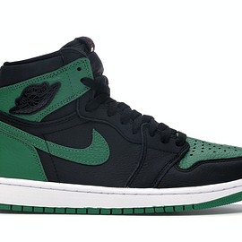 NIKE - Jordan 1 Retro High Pine Green Black
