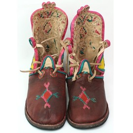moroccan boots for kids