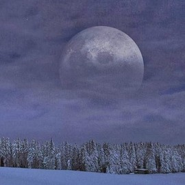 Black Forest in Germany - The Moon