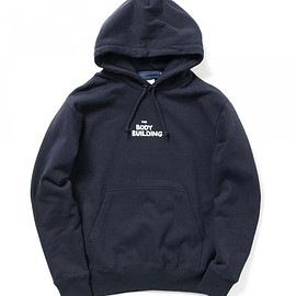 BEAMS T - Shuntaro Takeuchi / BODY BUILDING HOODIE