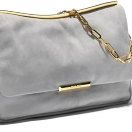 miu miu - frame bag in grey