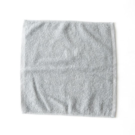 MARGARET HOWELL - COTTON RAMIE TOWEL S BLUE