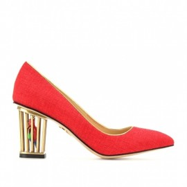Charlotte Olympia OPEN TOE SHOES W/ANKLE STRAP