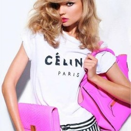 CELINE - Pink Celine handbag and clutch  ❤