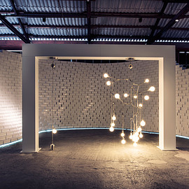 Lindsey Adelman - Lighting installation by Lindsey Adelman at Nike's The Nature of Motion exhibition in Milan