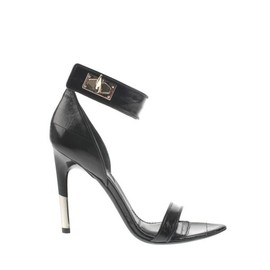 GIVENCHY - Embossed Textured Leather Sandal