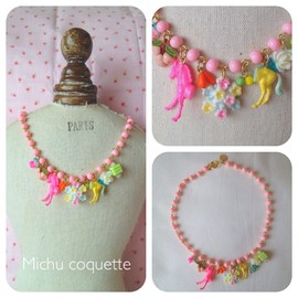 Michu coquette - necklace