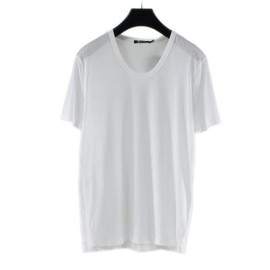 T by Alexander Wang - CLASSIC LOW NECK TEE