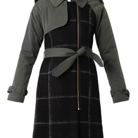 BAND OF OUTSIDERS - Multi-panel trench coat