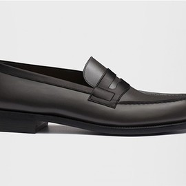 J,M WESTON - MOCASSIN 180 Black & Grey