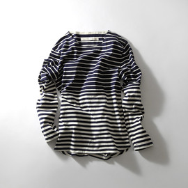 Curly - 13AW LS CONFUSED BORDER Tee