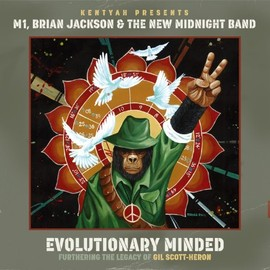M1 , Brian Jackson & The New Midnight Band - Evolutionary Minded
