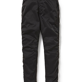 nonnative - ADVENTURER EASY RIB PANTS TAPERED FIT POLY TWILL OVERDYED