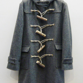 FRANK LEDER - Duffle Coat with WOODEN CLOSURE