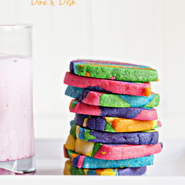 Dine & Dish - Rainbow Tie-Dyed Sugar Cookies