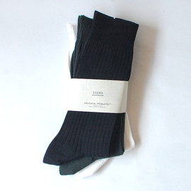 UNIVERSAL PRODUCTS - 3P COLOR SOCKS