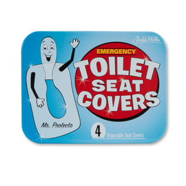 Accoutrements - Emergency toilet seat covers