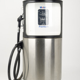 Mobil - Petrol Pump by Eliot Noyes