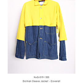 NuGgETS - Dolman Sleeve Jacket - Coverall