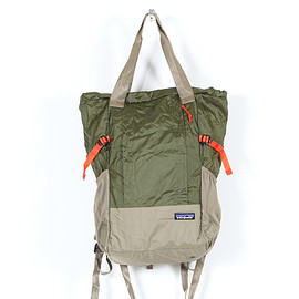 patagonia - PATAGONIA LW Travel Tote Pack Fatigue Green (FTGN)