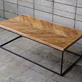 LIFE FURNITURE - HERRINGBONE TABLE