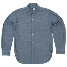 "Engineered Garments - Miner Shirt "" Blue Chambray"""