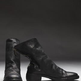 GUIDI - Horse Leather Backzip Boot