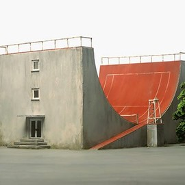 skate ramp tennis court