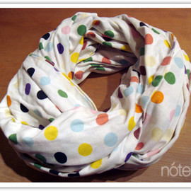 Damien Hirst × Levi's - crazy dots scarf