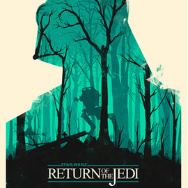 Olly Moss - STAR WARS: Return of the Jedi