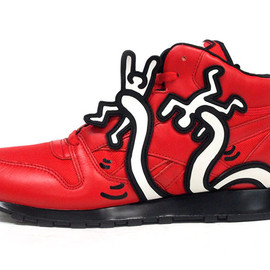 Reebok - CL LEATHER MID LUX 「KEITH HARING」 「LIMITED EDITION」