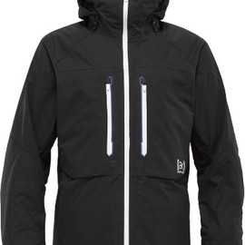 BURTON - 2011-12 BURTON AK 2L STAGGER JACKET TRUE BLACK