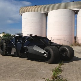Batmobile - Street Legal Tumbler Replica