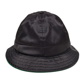 Bianca Chandon - Satin Bell Bucket Hat Black