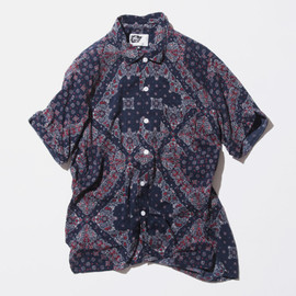 Engineered Garments - Paisley Camp Shirt
