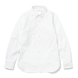 HEAD PORTER PLUS - OXFORD SHIRT WHITE