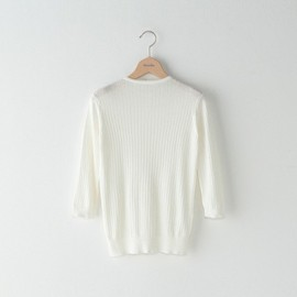Steven Alan - cotton silk rib knit