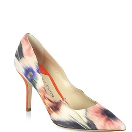Paul Andrew - Kimura Pointed Toe Print Pump - US37.5