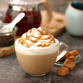 STARBUCKS - Melted Caramel Tea Latte