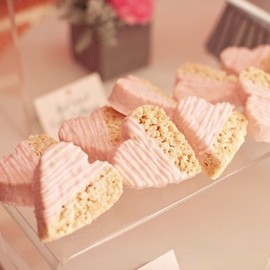 heart rice crispy treats