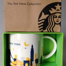 STARBUCKS - New York City You Are Here Mug