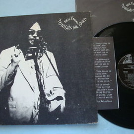 Neil Young - Tonight's the Night (Record: Reprise MS2221 U.S.early press black label)