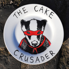 JIMBOBART - The Cake Crusader Badger