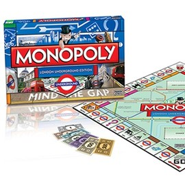LONDON TRANSPORT MUSEUM - London Underground Monopoly Board Game