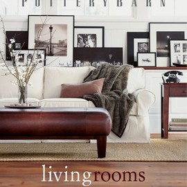 Bonnie Schwartz - Pottery Barn Living Rooms (Pottery Barn Design Library)