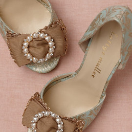the bride bhldn - Broccato d'Orsays