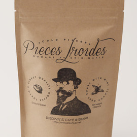 "Brown's Cafe & Beans - Satie Blend ""Pieces Froides"""