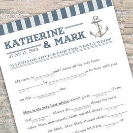 Luulla - Printable Guestbook Alternative - Mad libs
