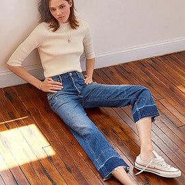 Citizens of Humanity - Citizens of Humanity Cora Crop Undone Hem Jeans